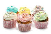Colored Cupcakes — Stock Photo