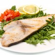 Roasted swordfish — Stock Photo #18747875