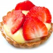 Fresh fruit tart — Stockfoto