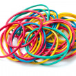 Stock Photo: Colored rubber bands