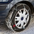Snow chains — Stock Photo #19506141