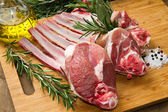 Rib lamb — Stock Photo
