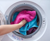 Washing machine — Stockfoto