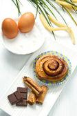 Cinnamon pastry — Stock Photo