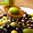 Stock Photo: Olive oil