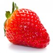 Fresh strawberries on a white background — Stock Photo