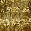 Gold sequin background — Stock Photo