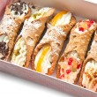 Sicilian cannoli — Stock Photo
