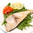 Roasted swordfish — Stock Photo #24337279