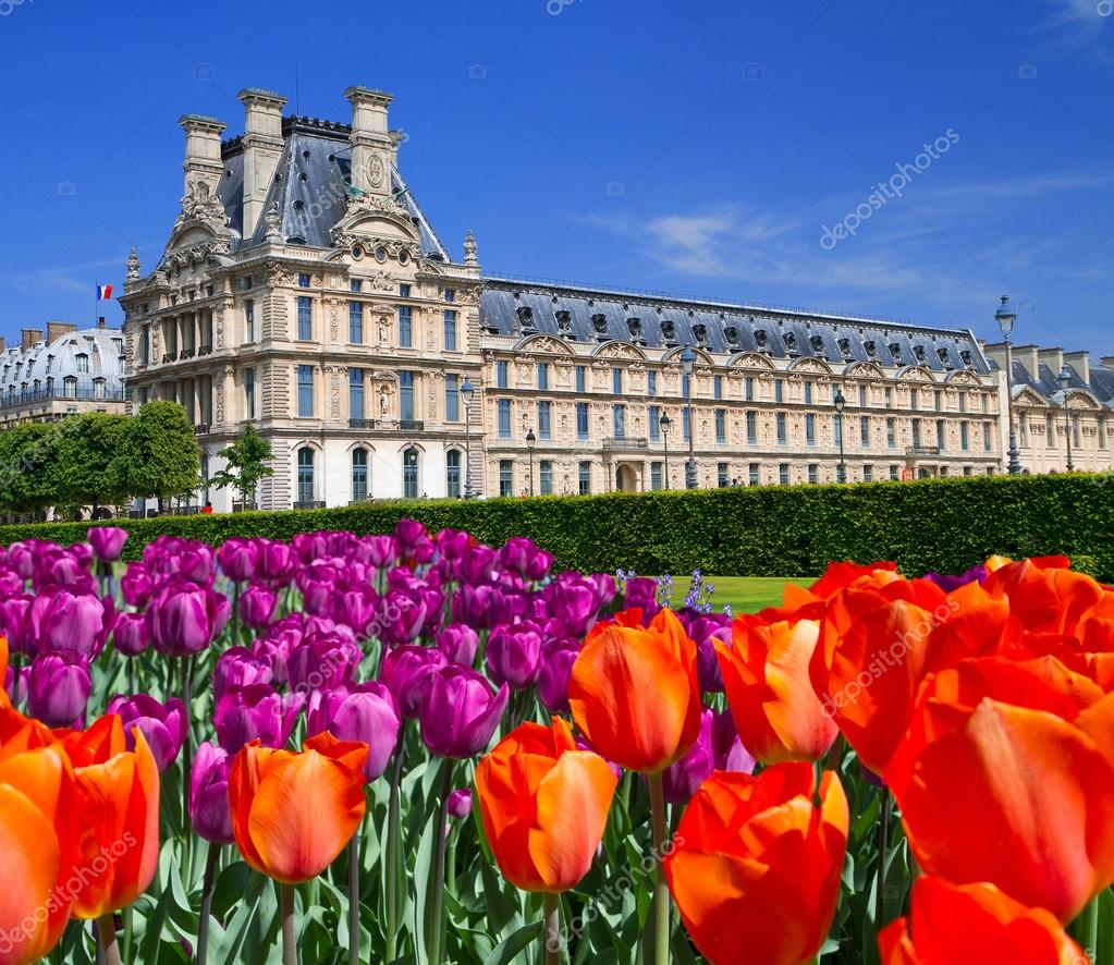 El palacio de los jardines de luxemburgo par s francia for Jardines de luxemburgo paris