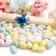 Different colored candy favor — Stock Photo #25491407