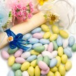 Different colored candy favor — Stock Photo #25491501