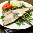 Roasted swordfish — Stock Photo #26592929