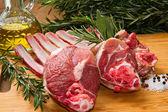 Rib lamb — Stock Photo