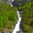 Norwegian Waterfalls — Stock Photo