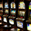 Slot machine in casino — Stock Photo #27037999