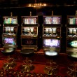 Slot machine in casino — Stock Photo
