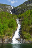 Norwegian Waterfalls — Foto de Stock