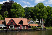 Tivoli park in copenhagen — Stock Photo