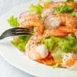 Shrimp salad — Stock Photo #29528829
