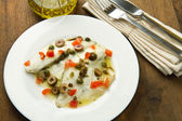 Sea bream fillet — Stock Photo