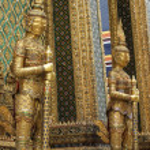 Beautiful Buddha statue in Thailand — Stock Photo #30313299