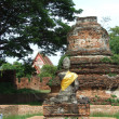 Buddha statue in historical park, Thailand — Stock Photo #30313313
