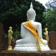 Buddha statue in historical park, Thailand — Stock Photo #30313853