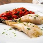 Delicious monkfish — Stock Photo #30609107