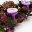 Christmas candle — Stock Photo #34921431