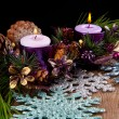Christmas candle — Stockfoto #34921477