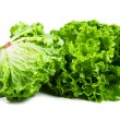 Bunch of fresh green salad isolated over white — Stock Photo #38439899