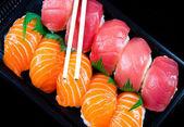 Kuchni japońskiej - sushi — Zdjęcie stockowe