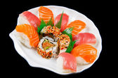Fresh sushi traditional japanese food  — Foto Stock