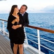 Couple Enjoying a Cruise Vacation — Stock Photo #50643515