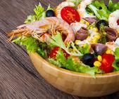 Prawn salad  — Stock Photo