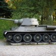 T-34 tank II world war - Stock Photo