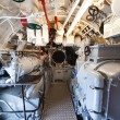 German world war 2 submarine - aft torpedo room - Stock Photo