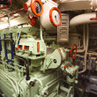 German world war 2 submarine type VIIC/41 - electric engine room - Stock Photo