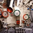 German world war 2 submarine type VIIC/41 - heart of submarine - Stock Photo