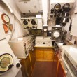 German world war 2 submarine type VIIC/41 - sonar compartment - Stock Photo