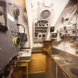 German world war 2 submarine type VIIC/41 - radio compartment - Stock Photo