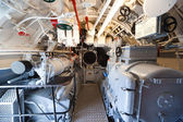 German world war 2 submarine - aft torpedo room — Stockfoto