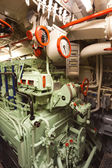 German world war 2 submarine type VIIC/41 - electric engine room — Stock Photo