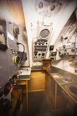 немецкий второй мировой войны 2 подводная лодка типа viic/41 - радио отсек — Стоковое фото