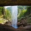 Pericnik waterfall in Julian Alps in Slovenia — Stock Photo