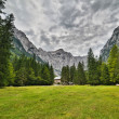 Triglav - highest mountain of JuliAlps — Stock Photo #22410581