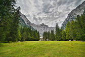 Triglav - the highest mountain of Julian Alps — Stock Photo