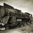 An old locomotive — Stock Photo