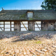 Old rural barn in Poland - XIXth century — Stok fotoğraf